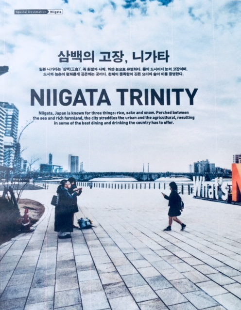 Niigata Trinity - Korean Air's Morning Calm magazine