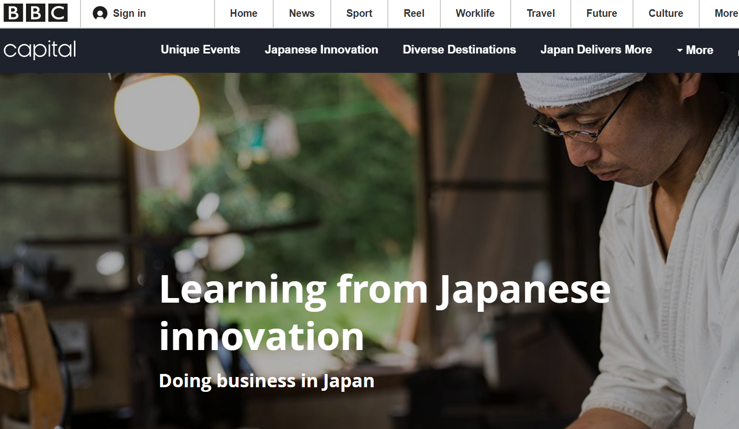 Doing Business in Japan - BBC Story Works / JNTO
